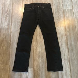 Levi's 514 Black Denim Jeans. Sz 32/32